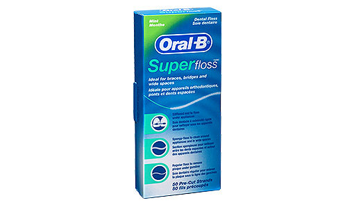 Super Floss (50 strands/pk). From $4.85ea