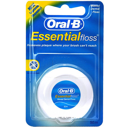 Essential Floss (Unflavoured) 50m. From $6.38ea