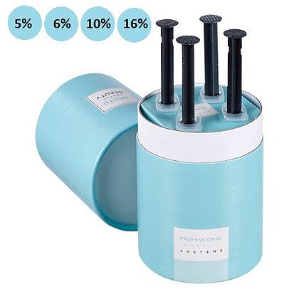 4x 3ml White Dental Beauty Syringe Kit
