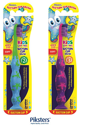Childrens Suction Cup Brush (3-10yr). From $2.97ea
