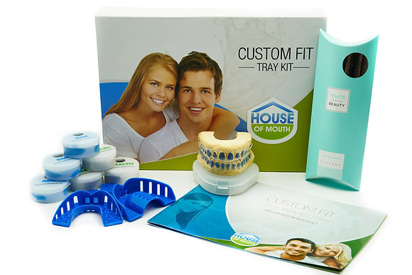 DIYCustom Fit White Dental Beauty COMPLETE Package