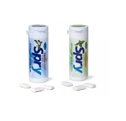 Xlear SPRY Xylitol Chewing Gum 30pc Canisters