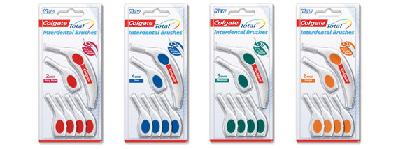 Interdental Brushes (VFine-Large) 6pk From $8.97ea