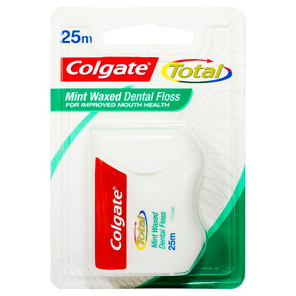 Total Mint Waxed Dental Floss 25m. From $8.25ea