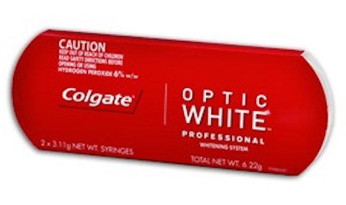 Colgate Optic White Touch Up Kit + Optional Whitening Trays