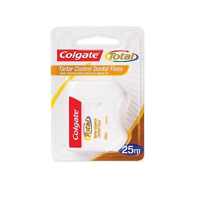 Total Tartar Control Floss 25m. From $8.25ea