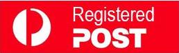 REGISTERED Postage (+ FREE Piksters Sample Pack)