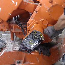 arbotilla tehdään teollisuusrobottien mä