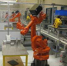 arobotilta teollisuusrobotin kunnossapit