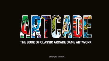 Now available: Bestselling 'ARTCADE - Extended Edition' from Bitmap Books