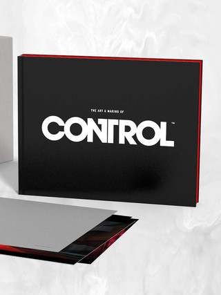 In Stock now - The Art and Making of Control Limited Edition