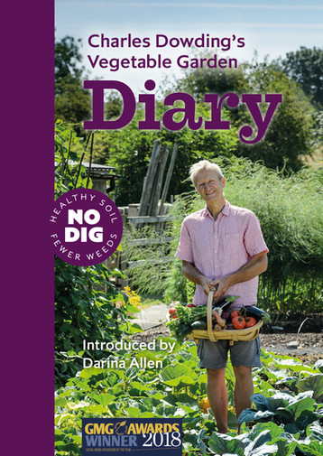 Now available: Charles Dowding's Vegetable Garden Diary 3rd Edition