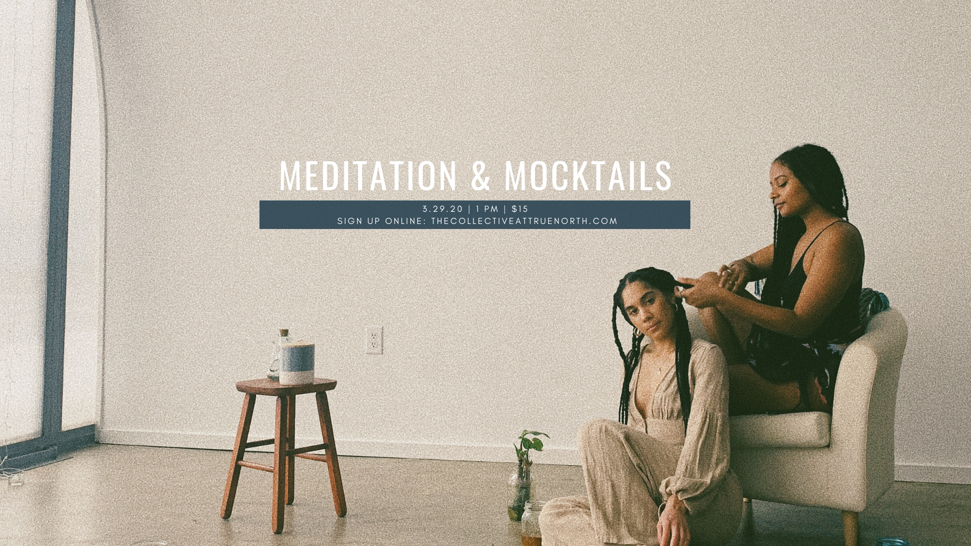 Meditation & Mocktails | March 29th
