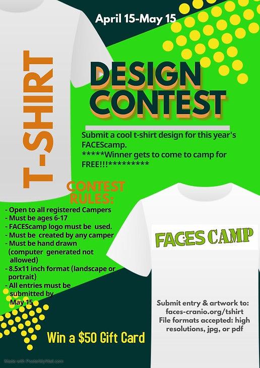 FACES Camp T-Shirt Design Contest