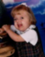 Gracie as a little girl