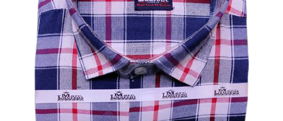 New Men Checked Shirt
