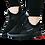 Thumbnail: Unique Graceful Men Black Sports Shoes