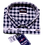 Thumbnail: Stylish Men Checked White and Black Shirt