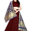 Thumbnail: Woman Maroon Lehenga