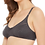 Thumbnail: Clovia Non-Padded Non-Wired Full Cup Bra in Grey-Cotton