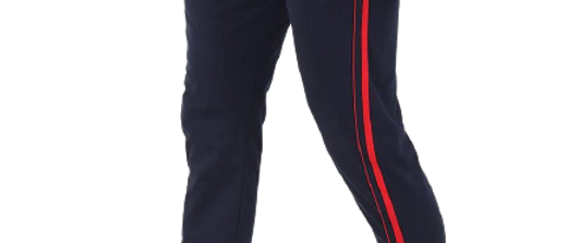 Men's Cotton Solid Track Pant