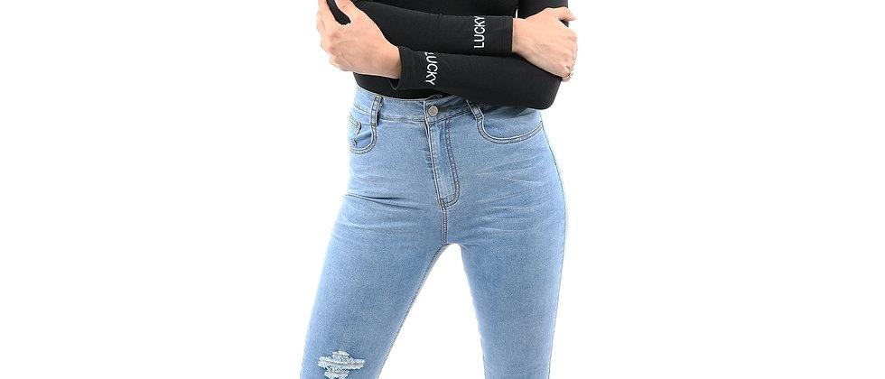Dabney Skinny Crop Jeans