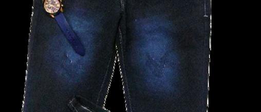 Men's Stylish Navy Blue Jeans