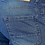 Thumbnail: Stylish Cotton Knitted Fit Indigo Blue Jeans For Men