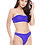 Thumbnail: Berry's Intimatess Mesh Tube Top & Brazillian Bikini Two Piece Swimsuit