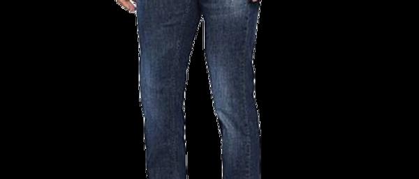 Elegant Greyish Blue Stretch Denim Faded Slim Fit Jeans For Men