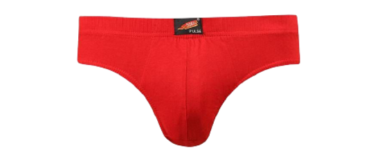 Men's Multicoloured Cotton Solid Mid-Rise Brief (Pack of 3)