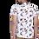Thumbnail: Stunning White Polycotton Printed Casual Shirts For Men