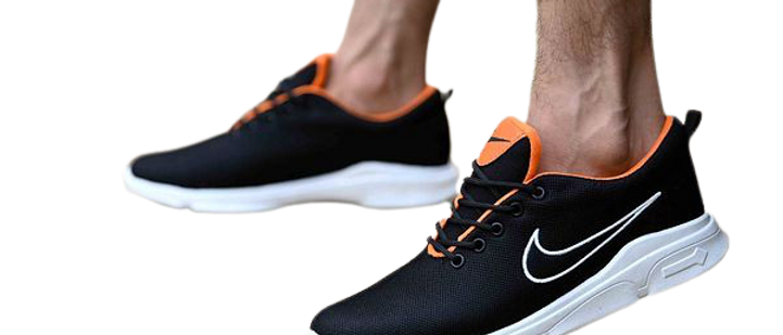 Sports and Gym Stylish Black Shoes