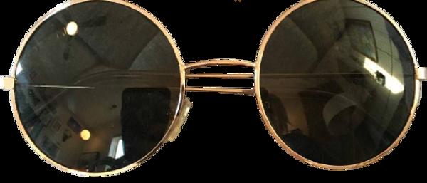 Round Bar Metal Stylish Sunglasses For Men & Women