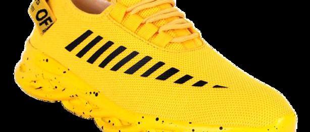 Stylish Yellow Sports & Gym Shoes