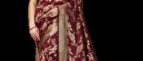 Banrasi Cotton Silk Saree