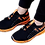 Thumbnail: Men's Stylish and Trendy Black Printed Mesh Casual Gym & Sports Shoes
