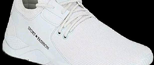 Unique Graceful Men Sports White Shoes