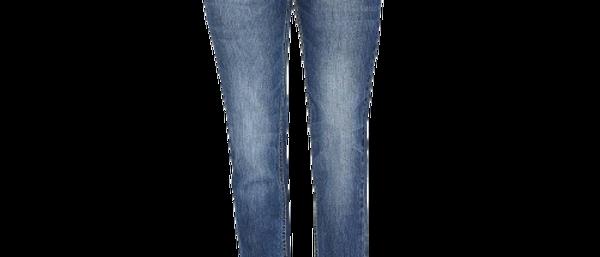 Turquoise Blue Denim Stretch Slim Fit Jeans For Men's