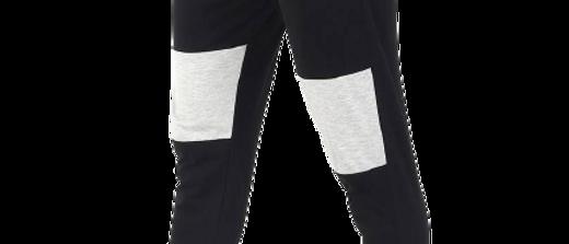 Men's Cotton Color Block Joggers