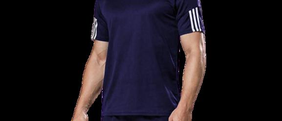 Men's Sports T Shirt & Shorts Set - Navy Blue