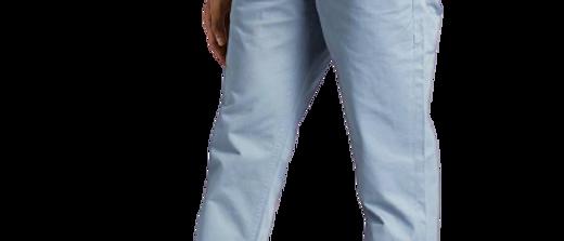 Stylish Cotton Blue Solid Trouser For Men