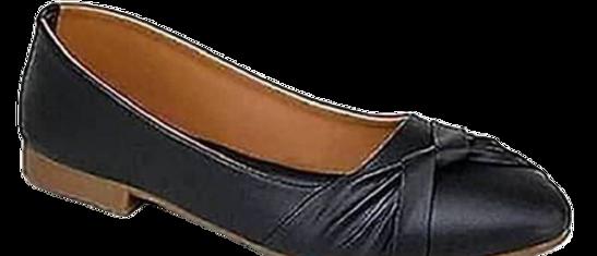 Women's Fancy Black Synthetic Bellies Footwear