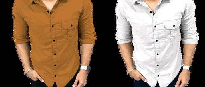 Designer Men Shirt Combo
