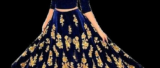 Trendy Superior Women Blue Lehenga
