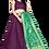 Thumbnail: Superior Women Purple Lehenga