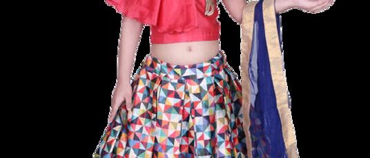 Kids Girls Lehenga Choli
