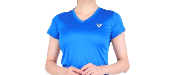 Sports blue T-Shirt for Woman