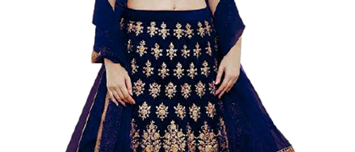 Trendy Superior Women Blue Lehenga