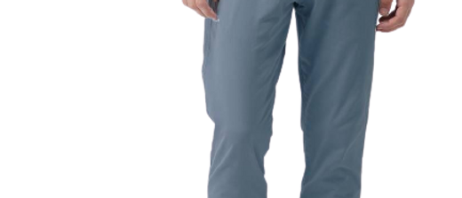 Stylish Cotton Grey Solid Trouser For Men